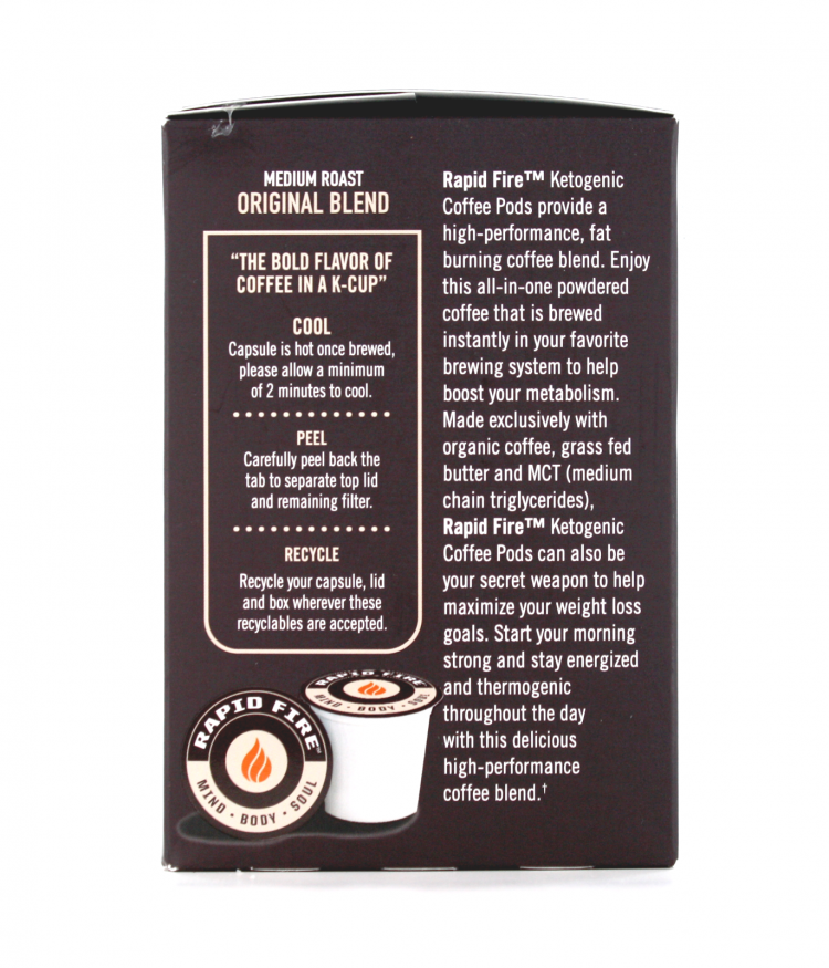 Rapid Fire Keto Coffee Pods Fitking