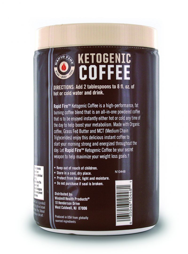Rapid Fire Original Ketogenic Coffee   FitKing